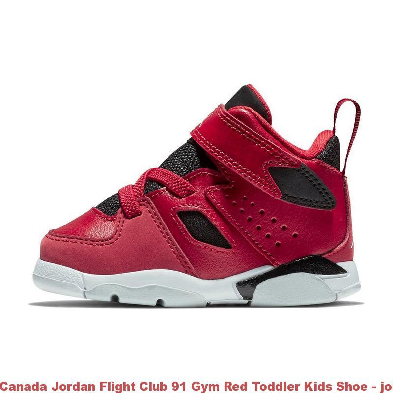 huge selection of b64a4 20650 Canada Jordan Flight Club 91 Gym Red Toddler Kids Shoe - jordan retro 12  cheap - R0221