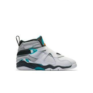 5363dbf2d259 ... Hot Sale Jordan 8 Retro White Turbo Green Preschool Kids Shoe - cheap  jordans 45 dollars - R0369 ...