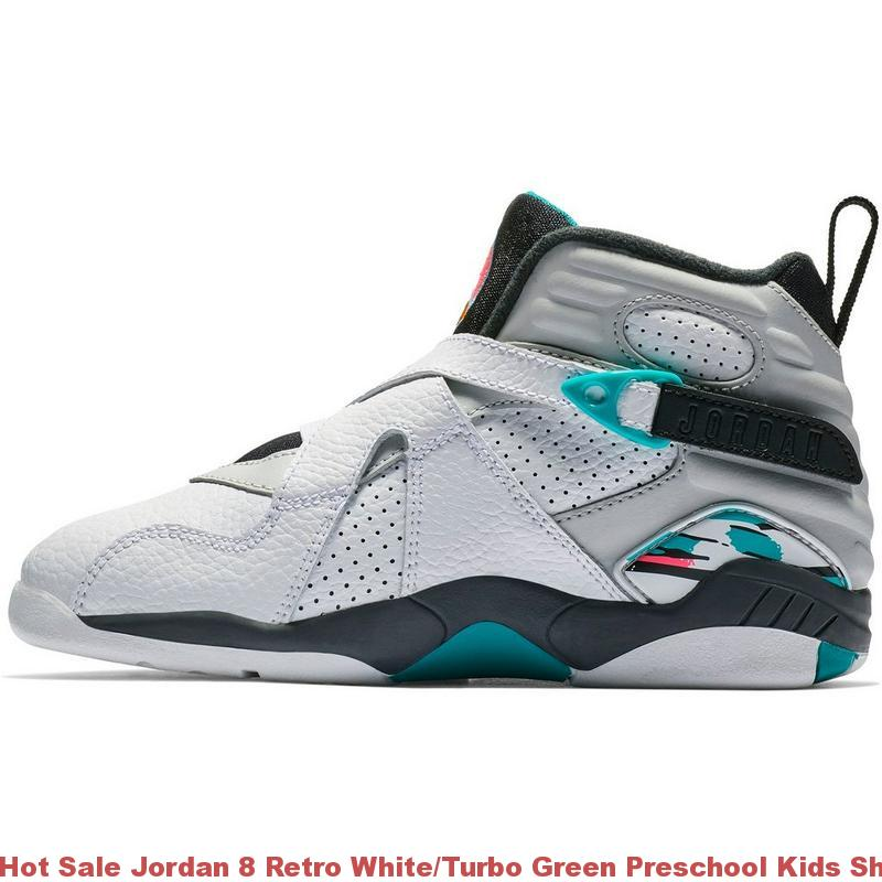 reputable site 195e6 53c16 Hot Sale Jordan 8 Retro White/Turbo Green Preschool Kids Shoe - cheap  jordans 45 dollars - R0369