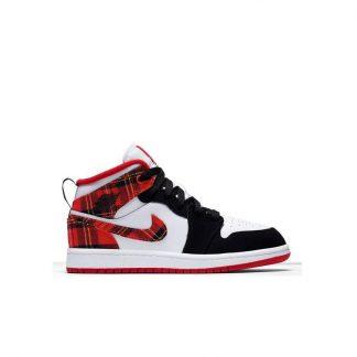 aa291b7c77c2 You re viewing  Perfect Jordan 1 Mid University Red Black Pre-School Kids  Shoe – air max shoes china – R0379 £57.85